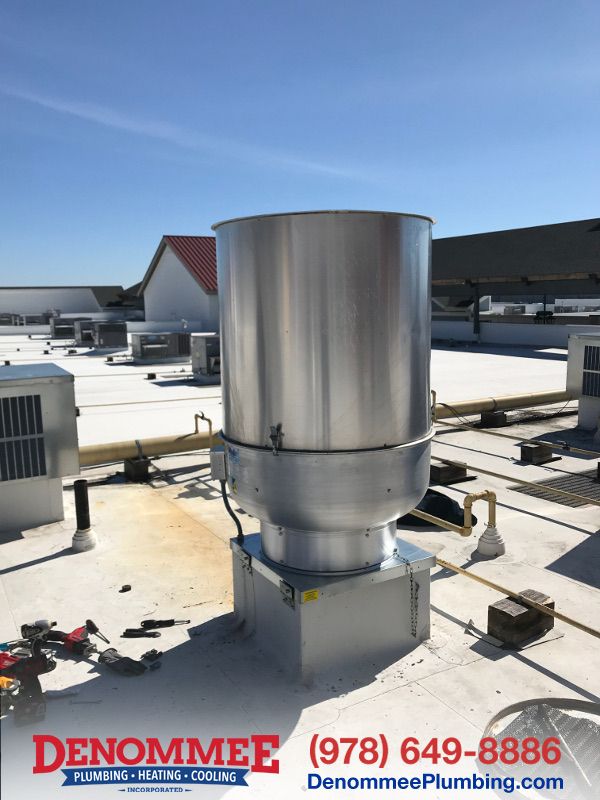Commercial Exhaust Fan / Commercial Plumbing In Merrimack, NH